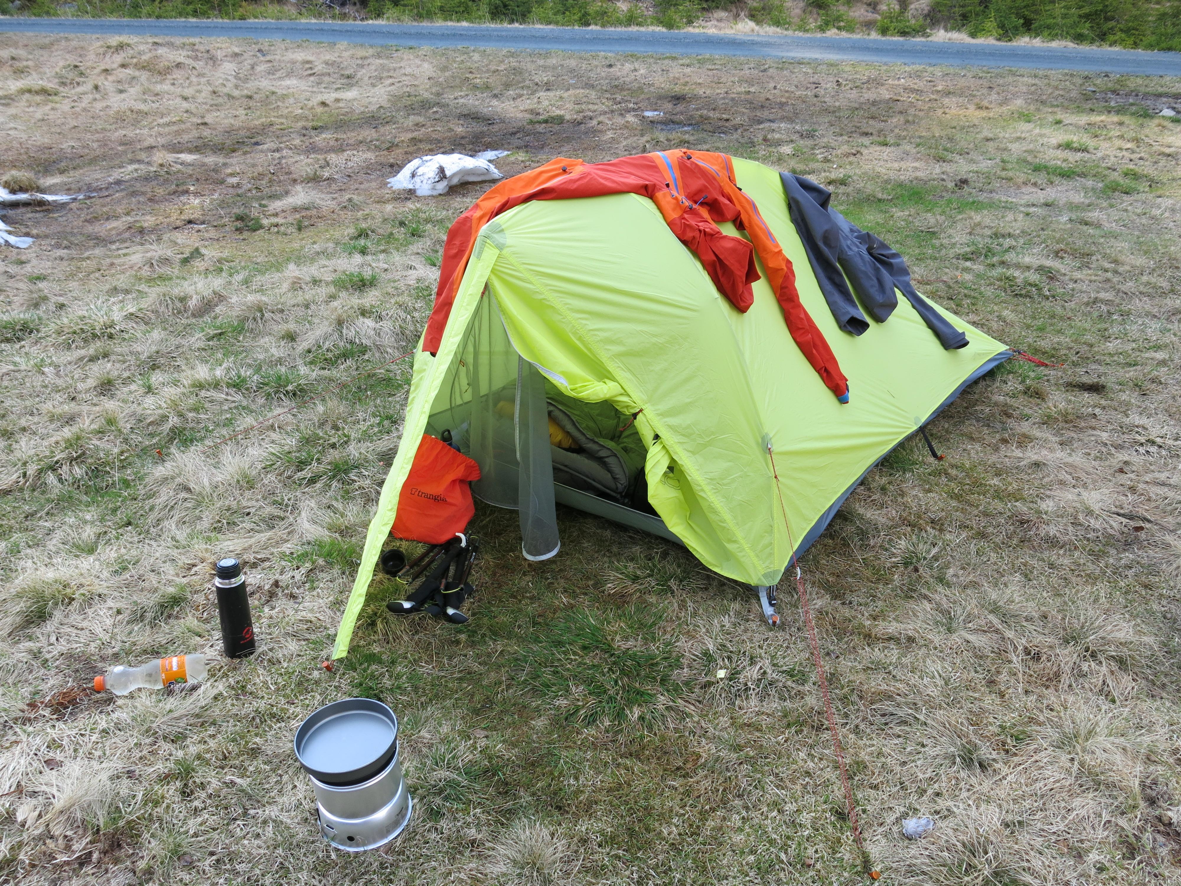 Zelt Für Regen : Zelt norge på langs