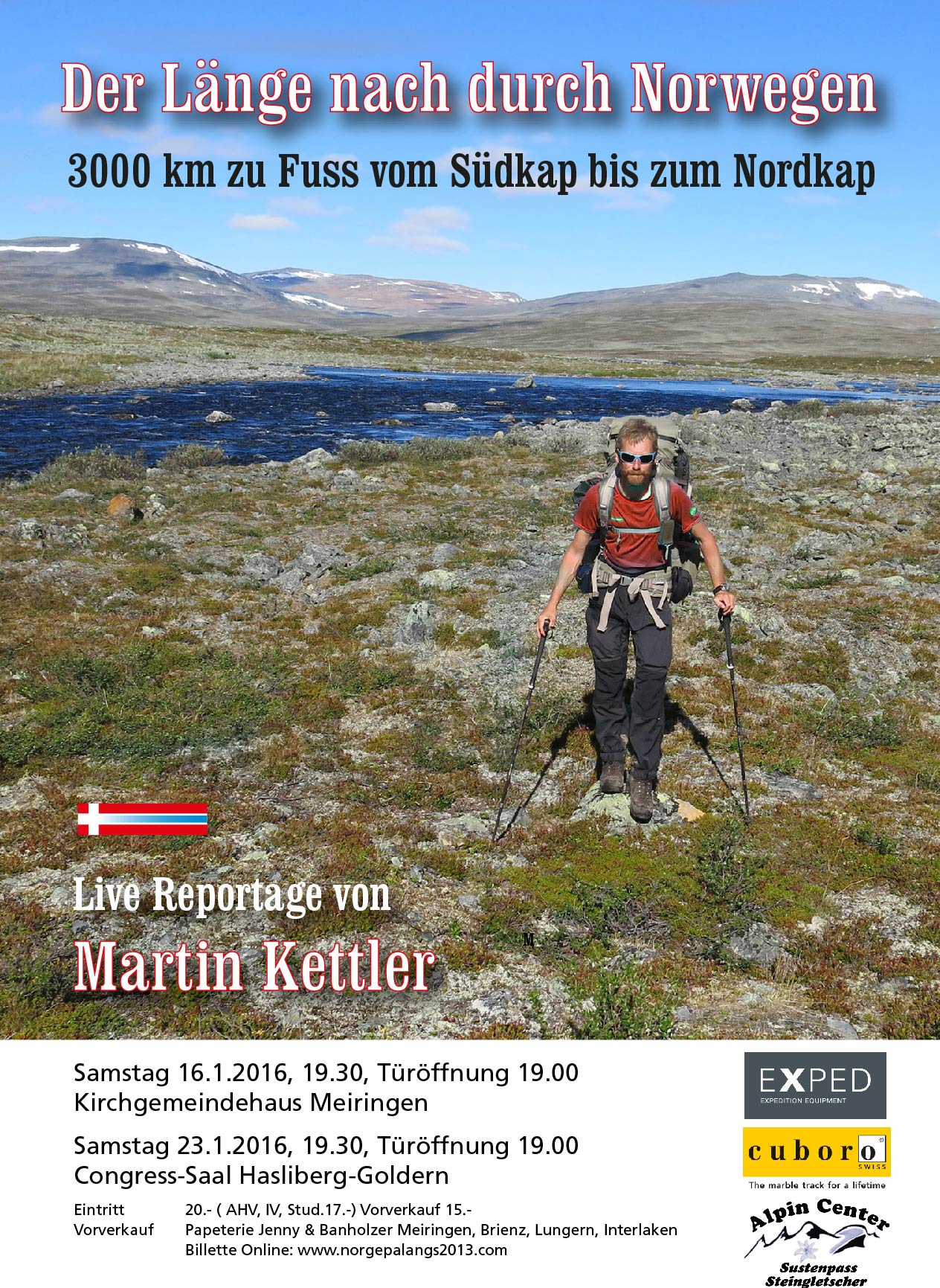 Norwegen 2 Plakat