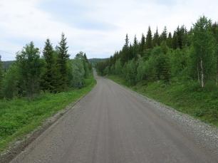 Auf dem Weg nach Røyrvik....