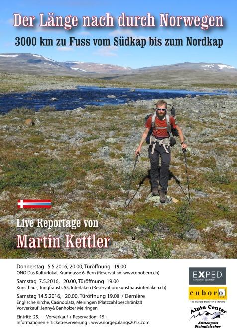 Norwegen 2 Plakat Kopie