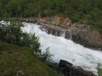 Die berühmten Anjavasselva Wasserfälle