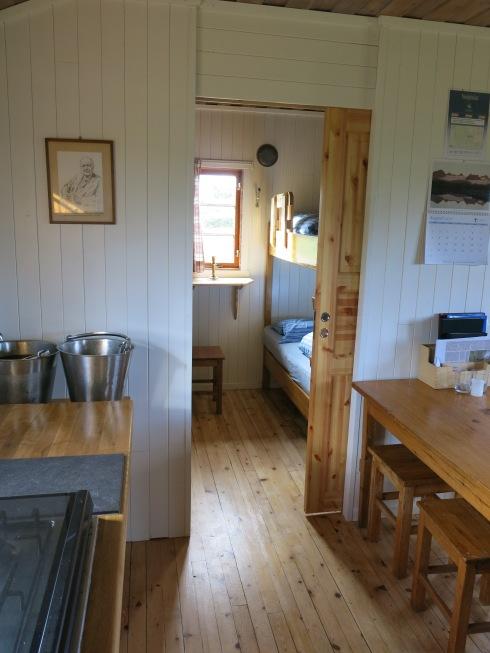 Küche und Schlafraum