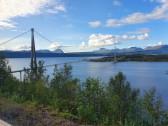 Narviks neue Brücke über den Rombaken